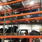 Sam's mechanical pallet racks